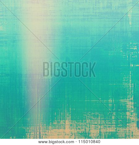 Grunge retro texture, elegant old-style background. With different color patterns: yellow (beige); blue; pink; green; cyan