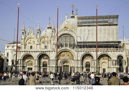 People Near Basilica Di San Marco In San Marco Square