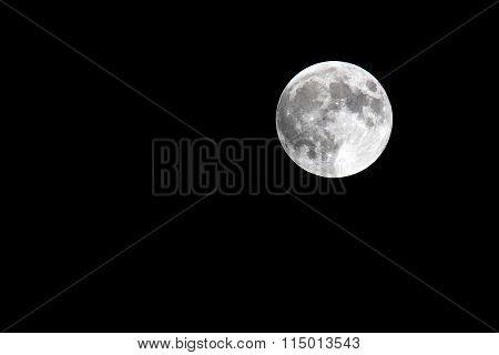 Super Full Harvest Moon