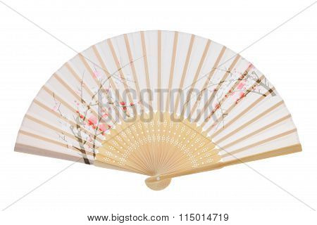 Traditional folding fan