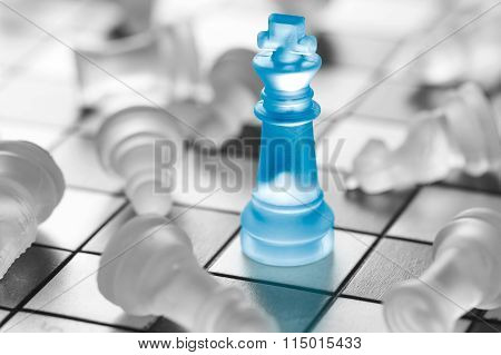 Chess Business Concept.