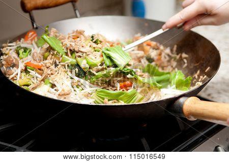 Home Made Chicken Stir Fry