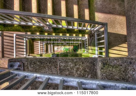 Lift Lock Outdoor Staircase