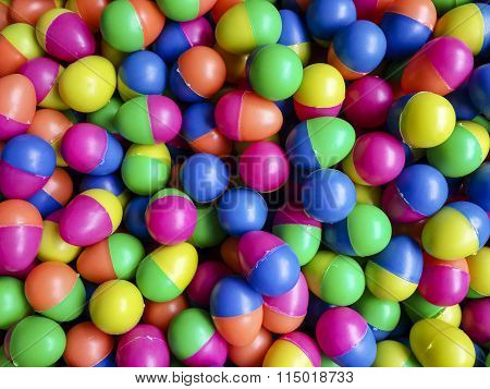 Colorful Egg Ball For Lucky Draw Game