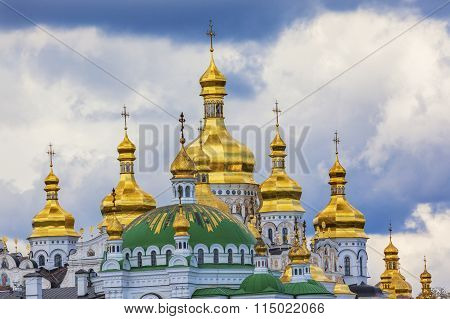 Uspenskiy Cathedral Holy Assumption Pechrsk Lavra Cathedral Kiev Ukraine