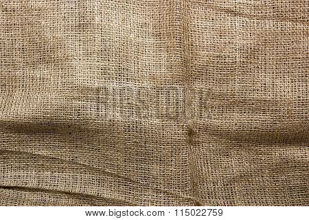 Background Of Burlap For Packaging