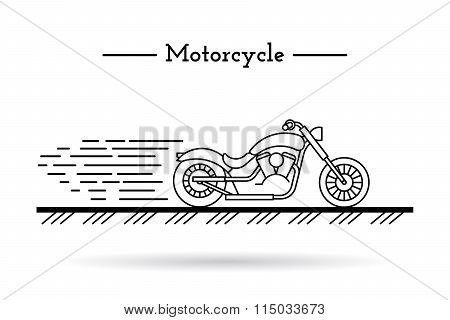 Classic Motorcycle 01
