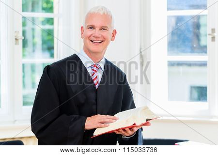 Trial Lawyer in his law firm