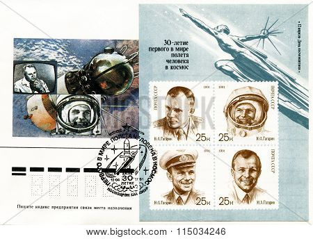 The World's First Cosmonaut Is Yuri Alekseyevich Gagarin