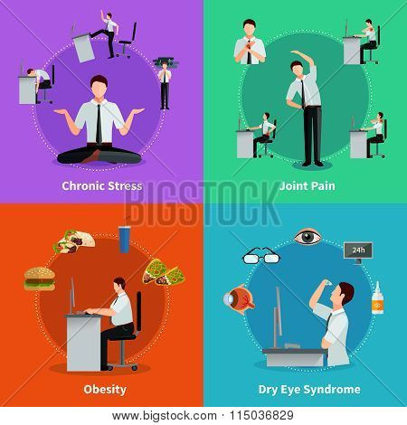 Office Syndrome 2x2 Design Concept