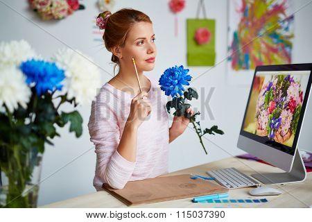 Floristics designer
