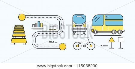 Concept Car of the Future Road Transport