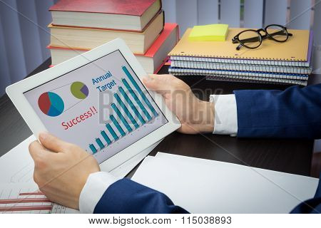 Business Conference Meeting Concept, Target, Success