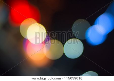 Multicolored Lights Spots