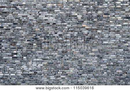 Repeating Grey Brick Wall Background
