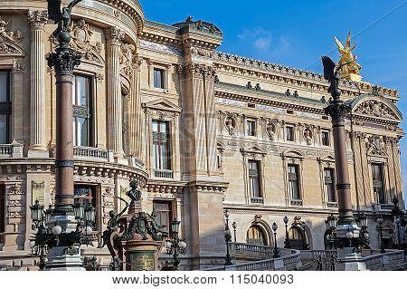 Architectural Details Of Opera National De Paris 1