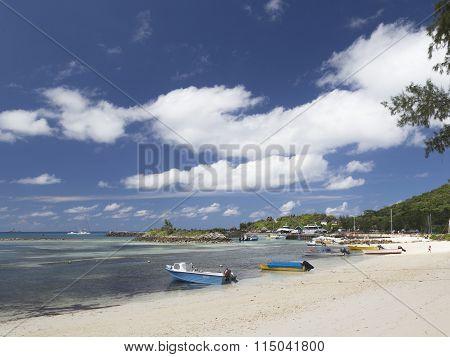Boats And Yachts Near The Coast