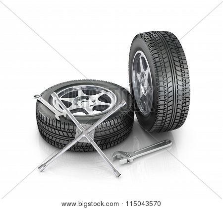 Repair Wheels And Cars