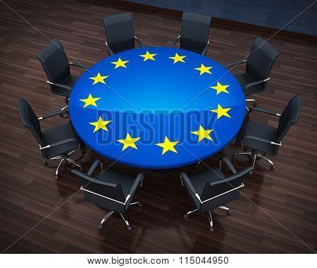 Circle Table Eu
