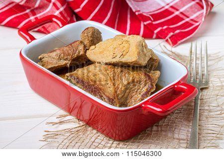 Tasty Braised Beef.