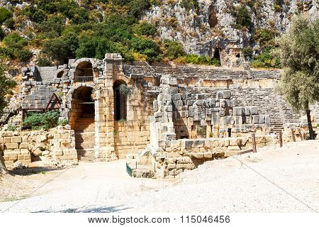 In  Myra   Europe   And Indigenous Tomb Stone