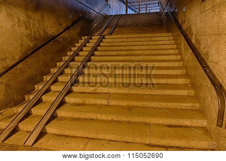 Staircase In The Underpass