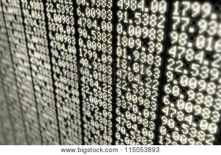 Stock Market Digital Board