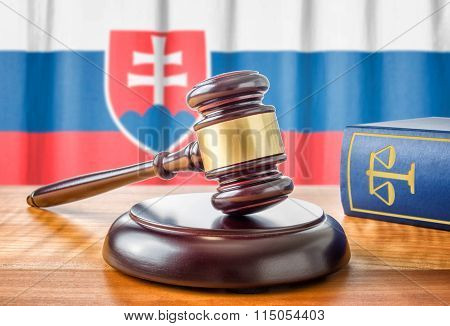 A Gavel And A Law Book - Slovakia