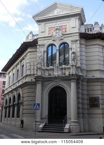 Corner Building In Antequera, Andalucia