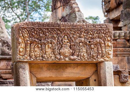 Prasat Hin Mueang Tam Hindu religious ruin located in Buri Ram Province Thailand