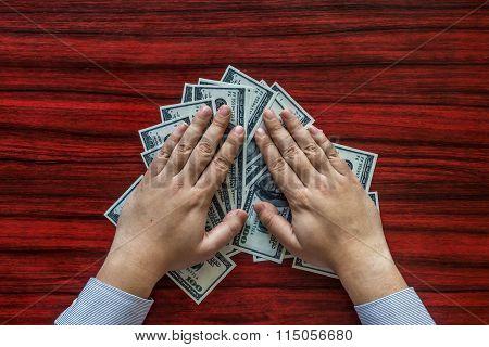 Grabbing Money