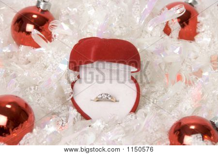 Christmas Engagement Ring