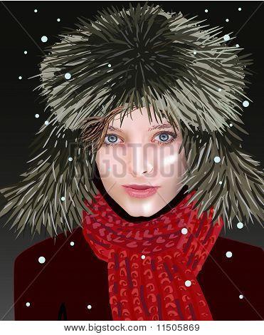 Girl In Winter