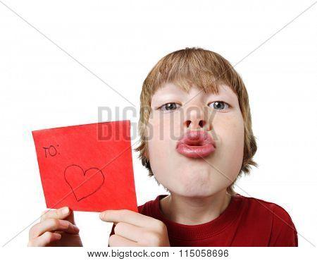 Valentine boy