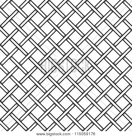 Seamless Cage Texture. Wire Mesh. Vector