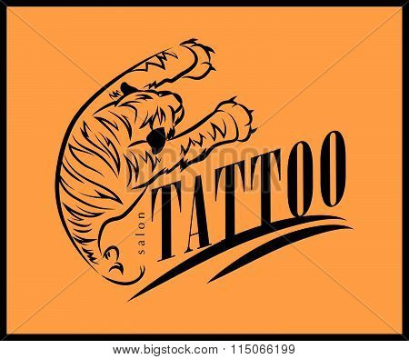 Vector tattoo symbol.