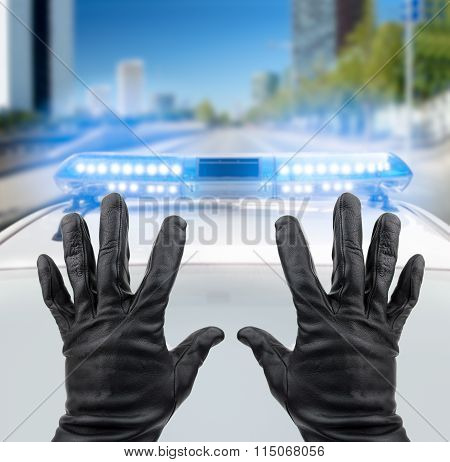 Robber Hands Up
