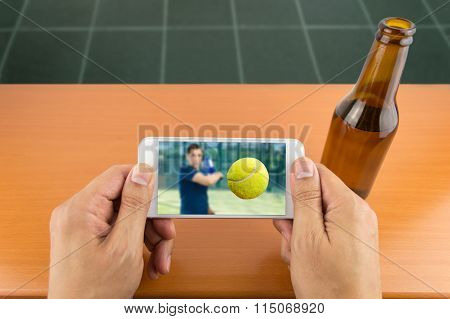 Viewing Sport On A Smartphone