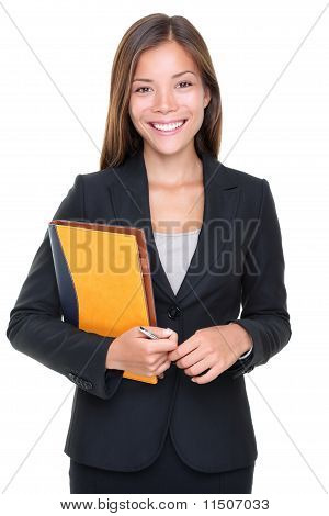 Immobilienmakler Business Woman Portrait