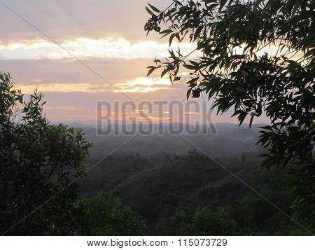 Sunrise at Top Dedel