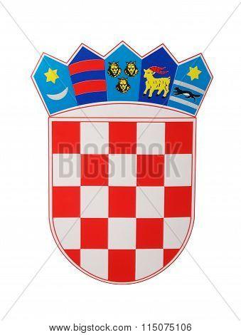 Emblem Of Croatia