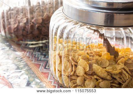 Corn Flakes In Jar