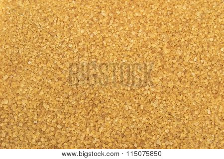 Crystals Brown Cane Sugar Background