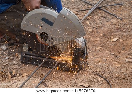 Cutting Metal With Grinder
