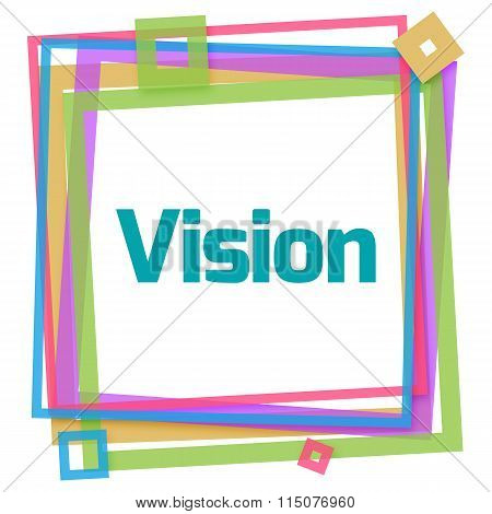 Vision Colorful Frame