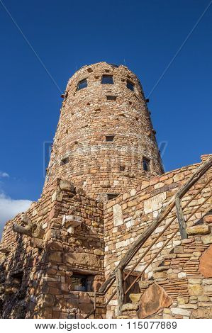 Watch Tower At The Grand Canyon