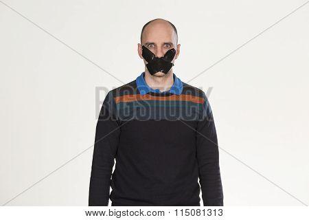 Man unable to speak
