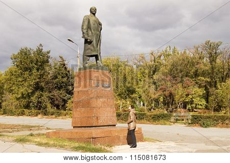 The Monument To Lenin V. I. Volgograd, Russia