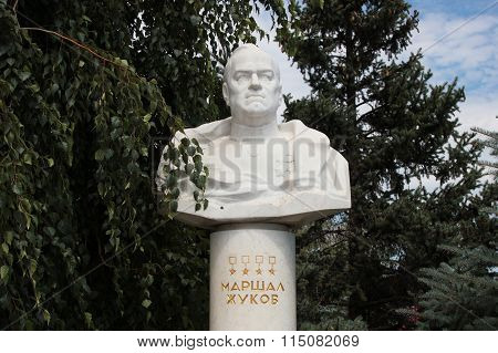 The Bust Of Zhukov Volgograd, Russia