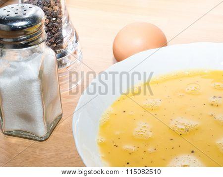 Omelet Preparation